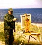 На Беломорском пленэре. Июль 2004 г..JPG
