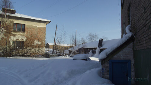 Фото города Инта №3747  Январская 15а, Чернова 6а и Январская 21 19.02.2013_12:50