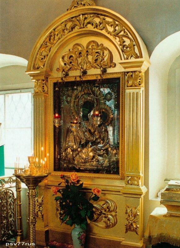 Тихвинская икона Пресвятой Богородицы.