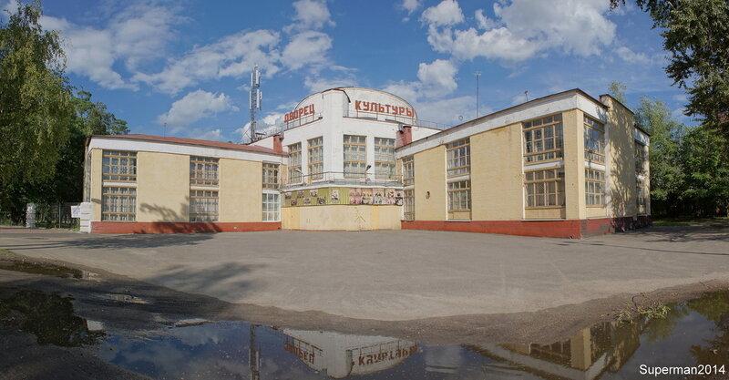 Дворец культуры в Ликино-Дулёво