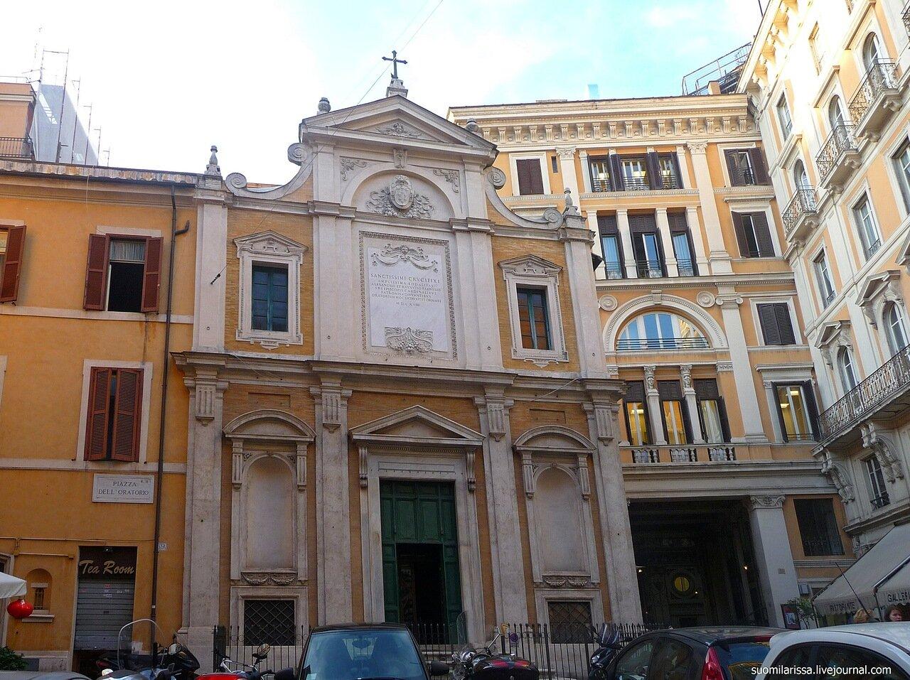 Oratorio del Crocifisso.