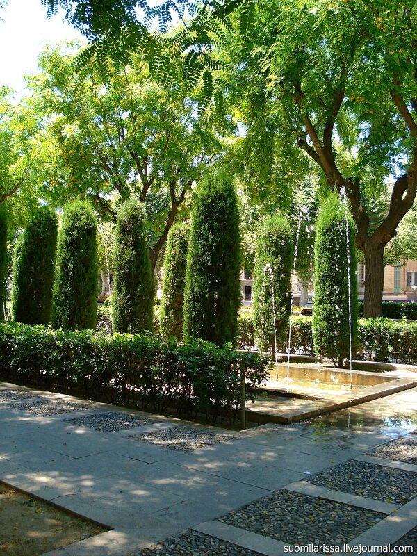Королевские сады. Пальма-де-Майорка.