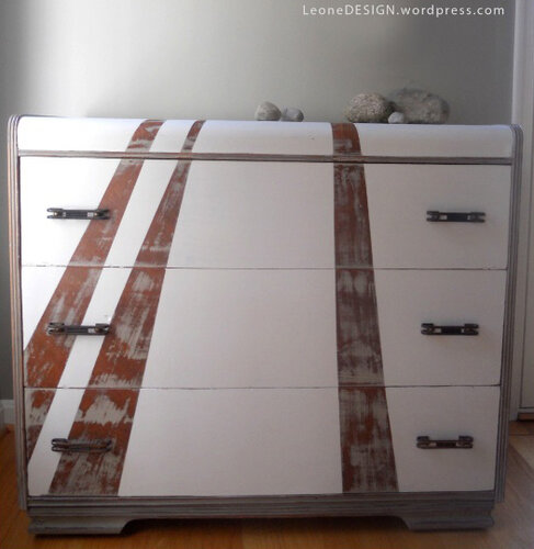Роспись мебели в стиле Арт Деко