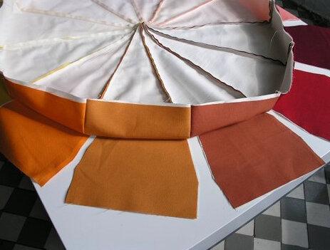 Подробный мастер-класс пошива пуфа