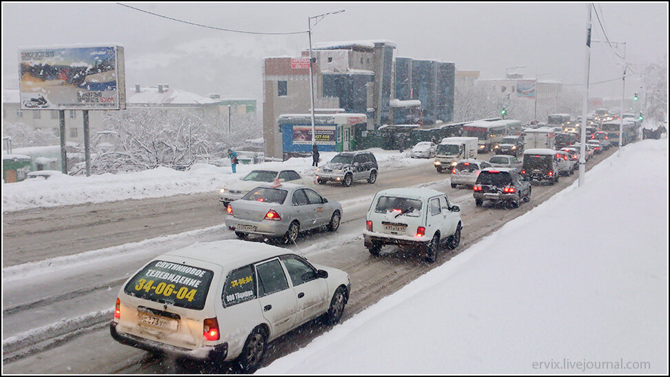 Пробки в Петропавловск-Камчатском