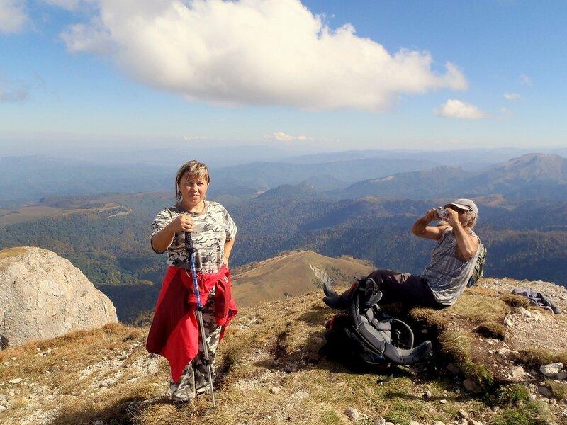 Фотографии Светланы Левада, Кавказ, Большой Тхач, сентябрь 2012