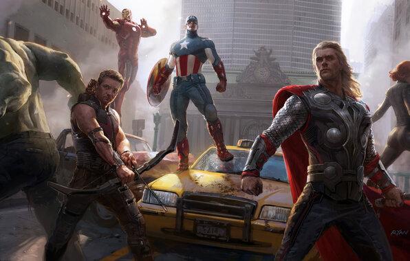 Мстители 2012 в HD качестве смотреть онлайн