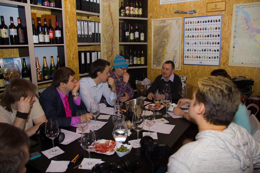 Вечер винной дегустаций