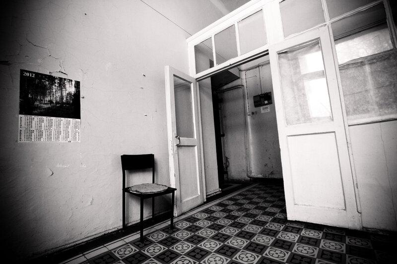 Московская заброшенная психбольница