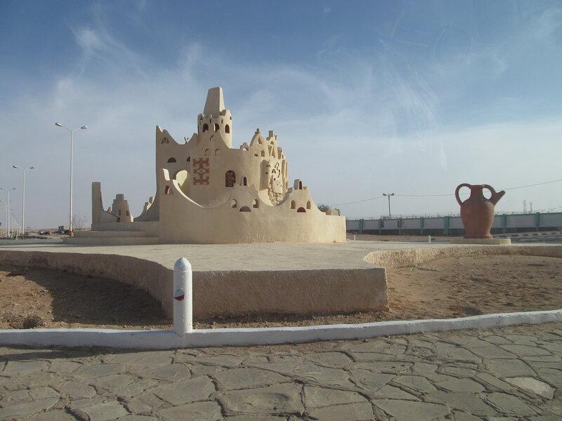 Алжир. Гардая, транспортная развязка