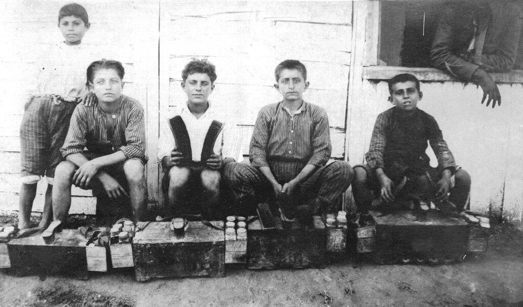 Армянские чистильщики обуви в Бейруте