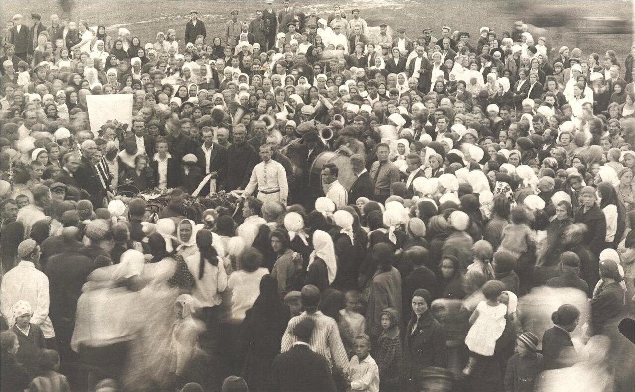 Похороны доктора Сахарова в Васильсурске. 1927 год