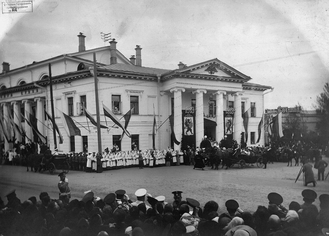 Посещение Николаем II Дворянского собрания. г. Нижний Новгород 1913 г..