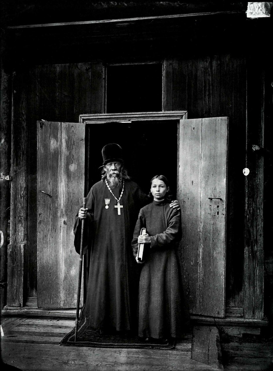 В Благовещенском Керженском единоверческом мужском монастыре 1897.