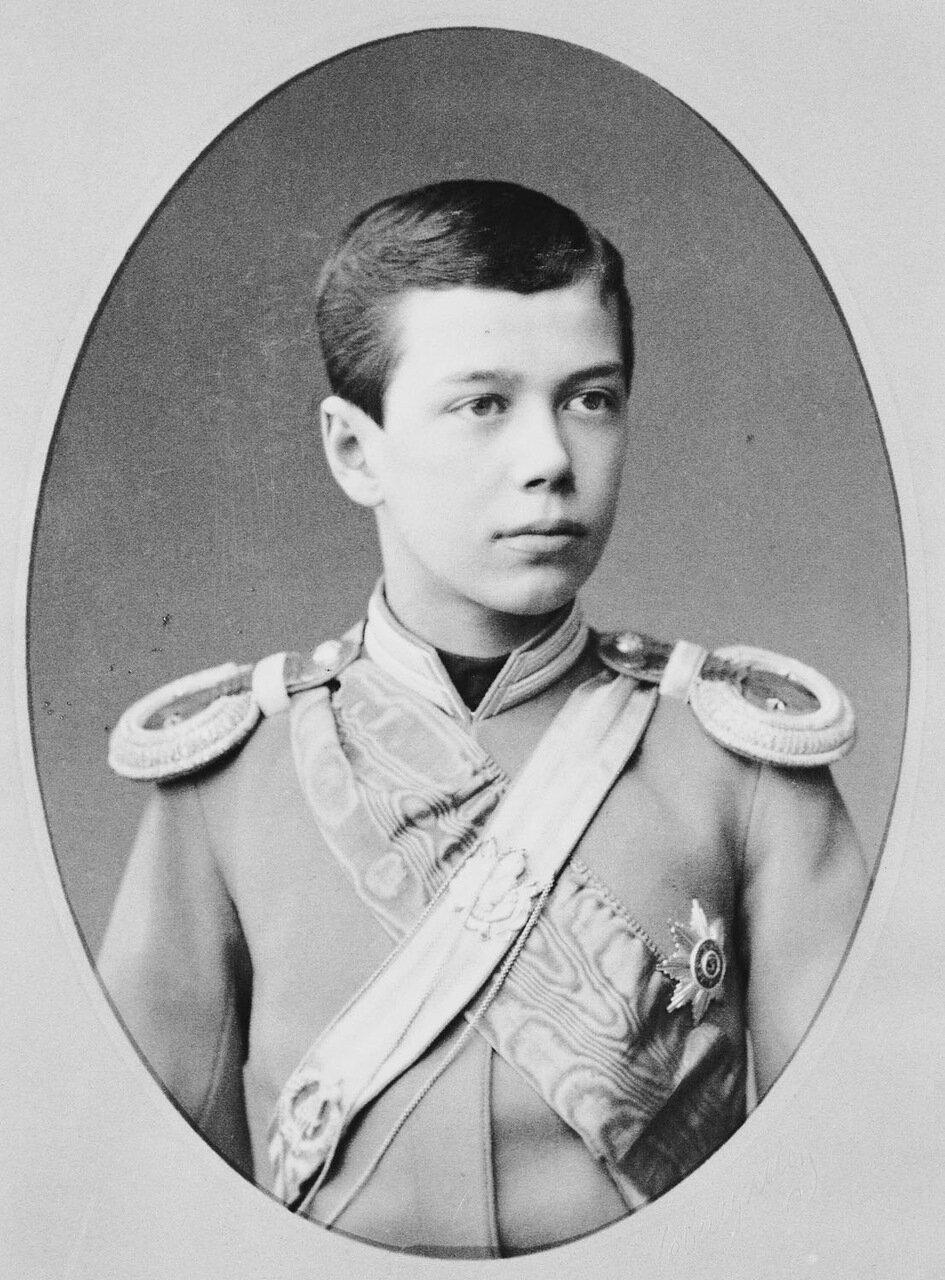 Цесаревич Николай Александрович, 1885 г.