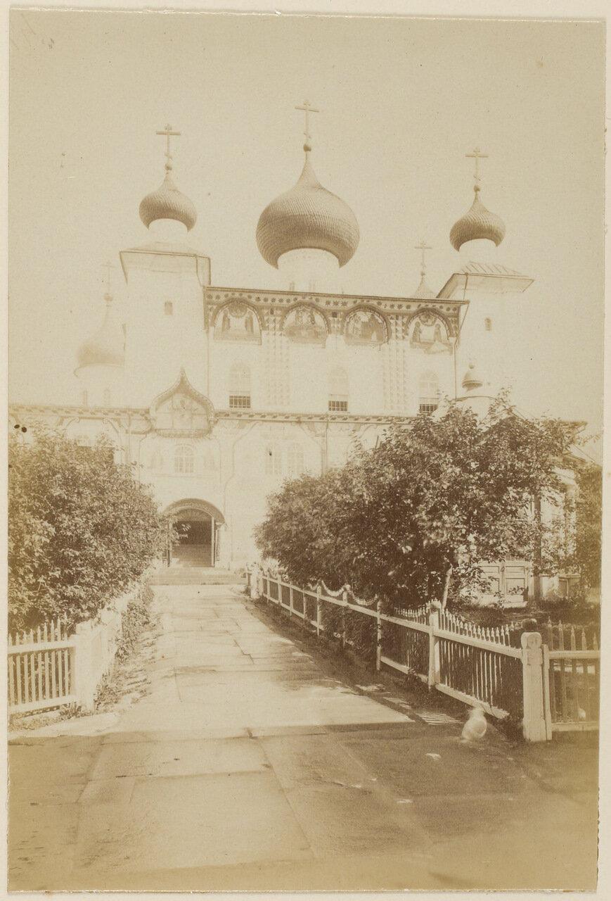 Главный храм Соловецкого монастыря