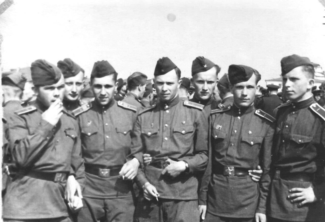 Курсанты 2-го курса, 1950 год