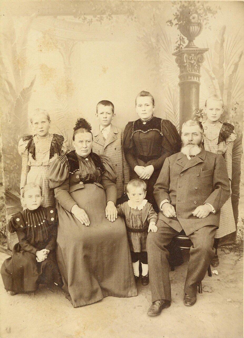 Семья Хамм. Россия