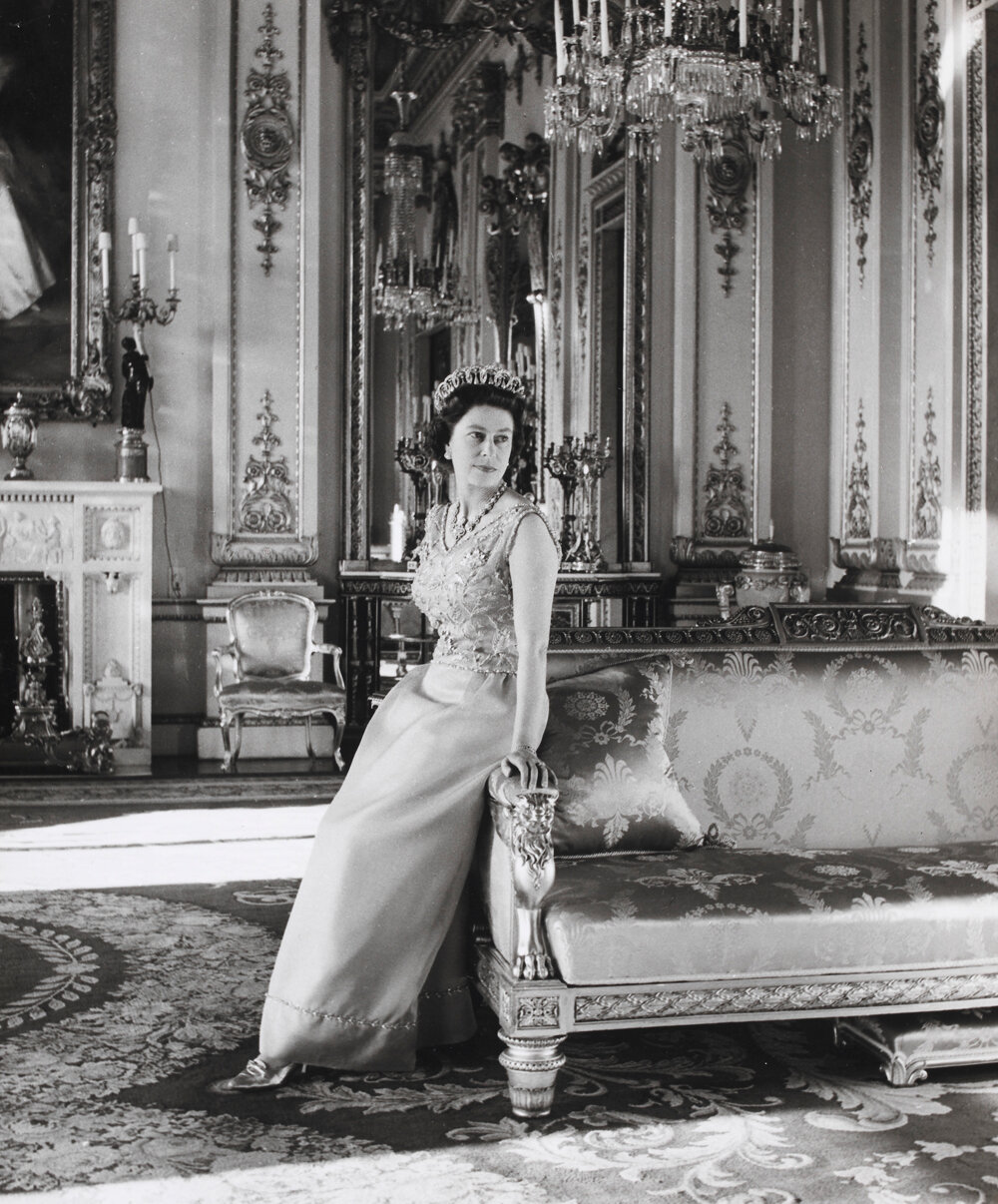 Королева Елизавета II 1968 г.