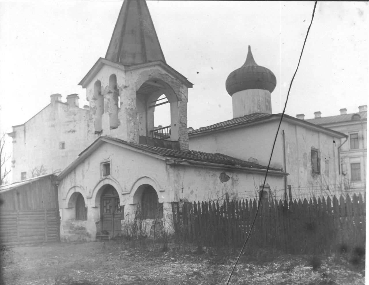 1930-е. Церковь Преполовения Пятидесятницы