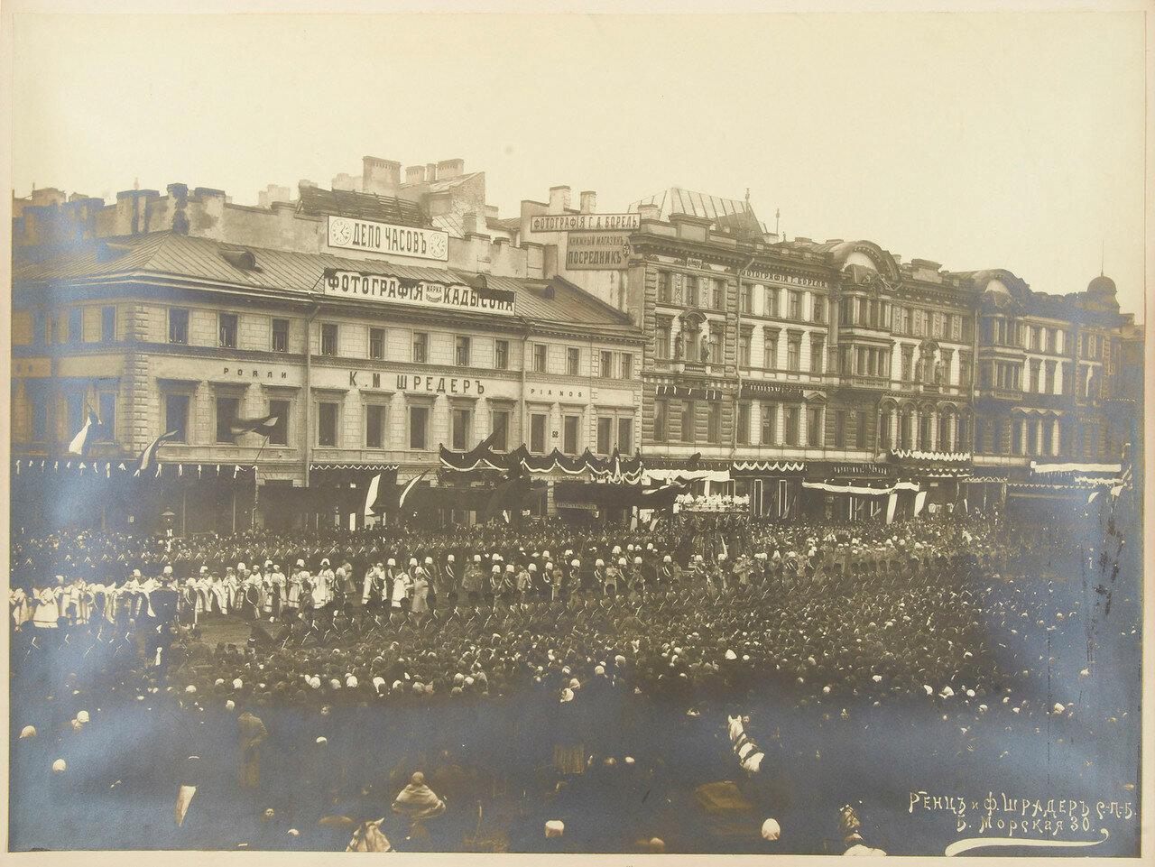 1894. Траурная процессия Александра III