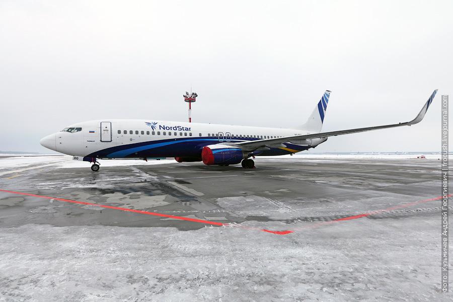 Boeing 737-8K5 (VQ-BDO) NordStar Airlines («Таймыр»)