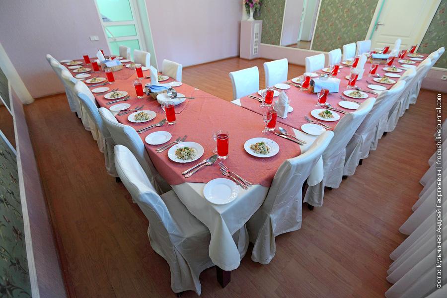 праздничный обеденный стол