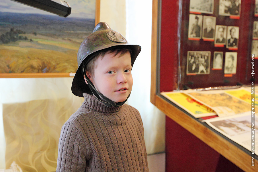 В краеведческом музее имени Арбузовой можно фотографироваться с музейными экспонатами