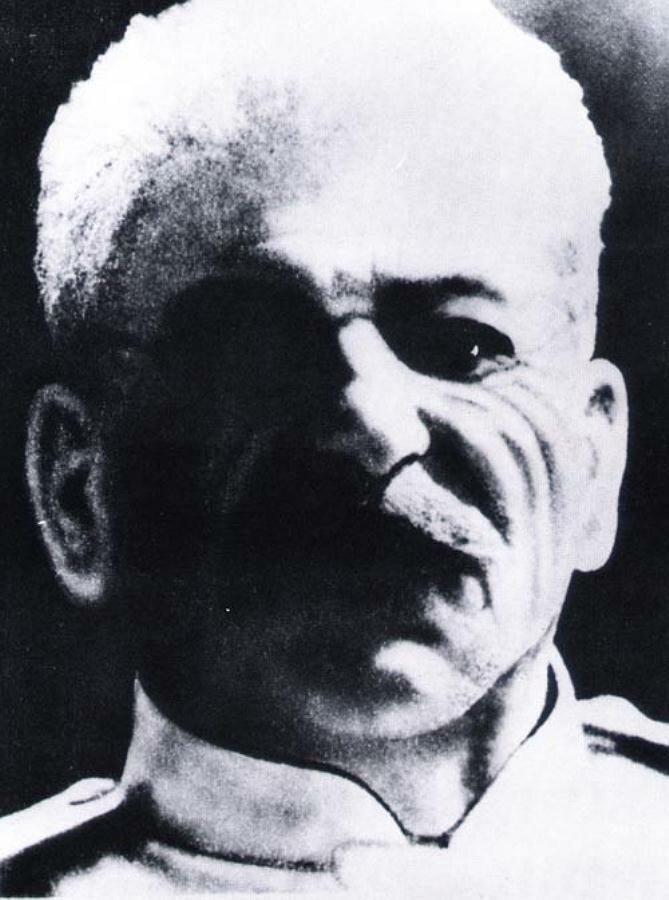 Последняя фотография Сталина