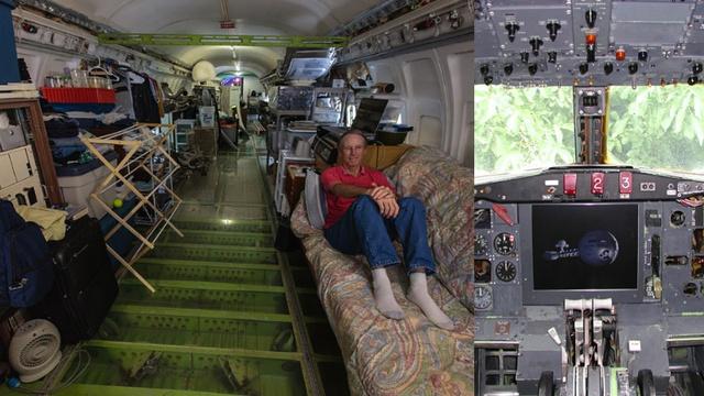 Дом из самолета