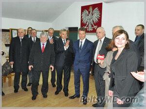 Визит в Бельцы Маршала Сейма Польши и Мариана Лупу