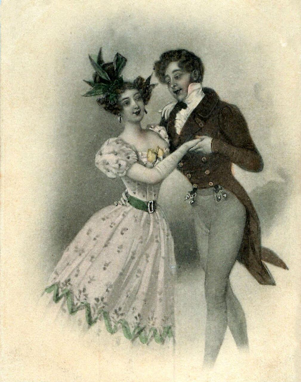 Свадьбой, открытки 18 век