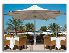 ОАЭ. Дубаи. The Westin Dubai Mina Seyahi Beach Resort & Marina. Bussola Restaurant - Terrace