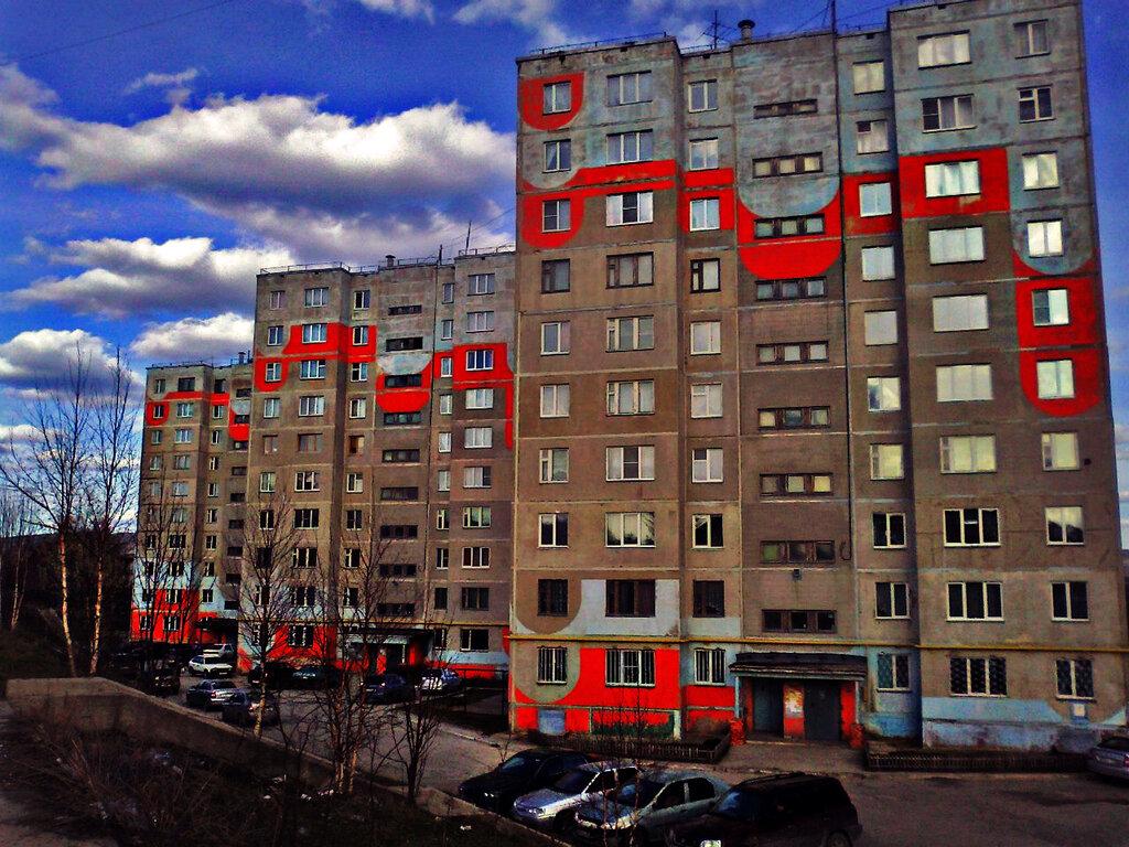 Когда погода портится златоустовские многоэтажки плачут кровью...