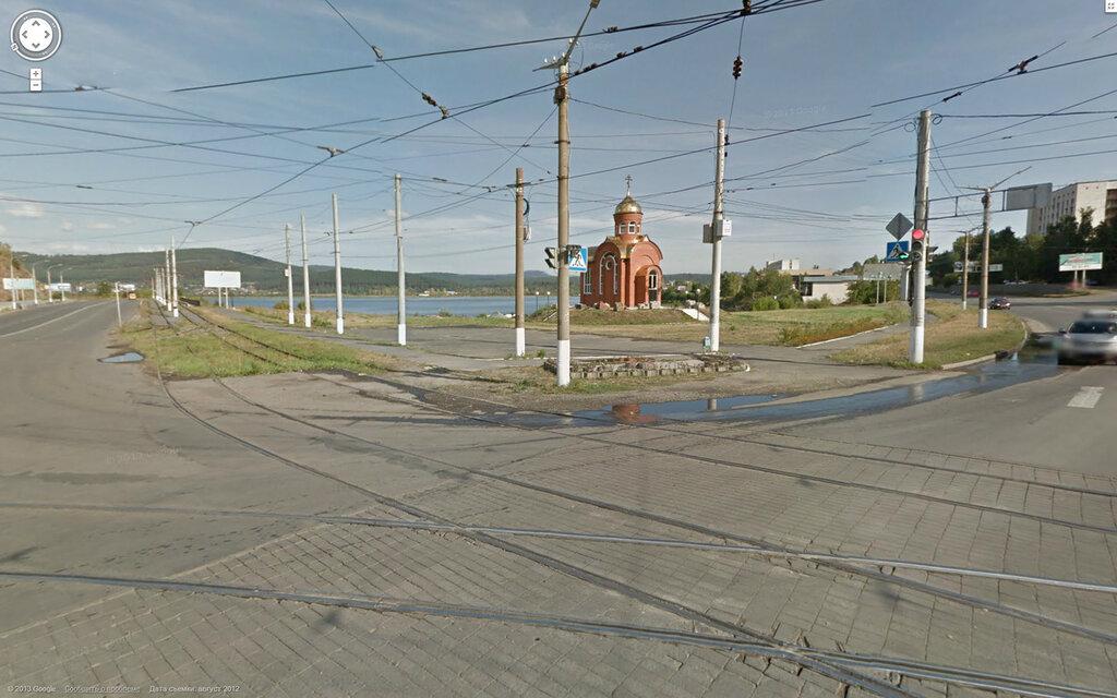 Google Street View. Город Златоуст