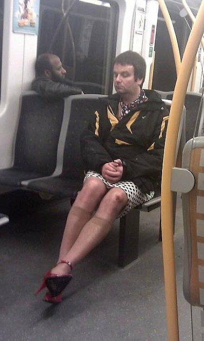 В норвежском метро