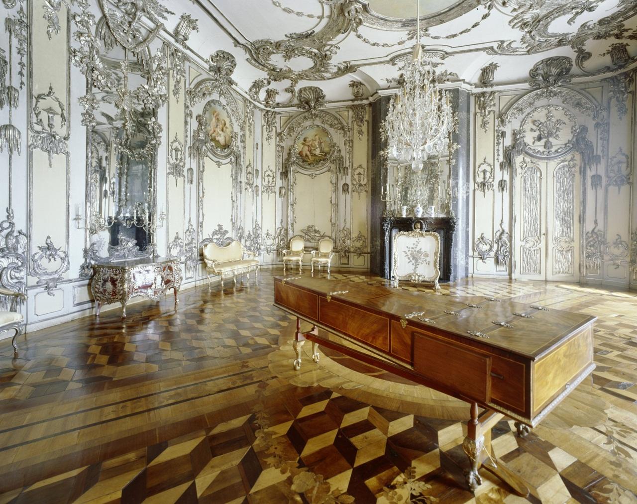 Potsdam, Park Sanssouci, Neues Palais, Oberes Fürstenquartier, O