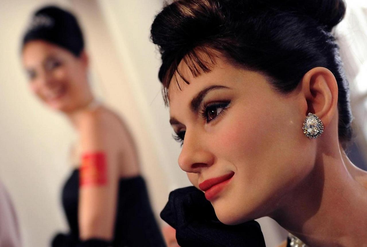 Statua di cera di Audrey Hepburn al Madame Tussauds