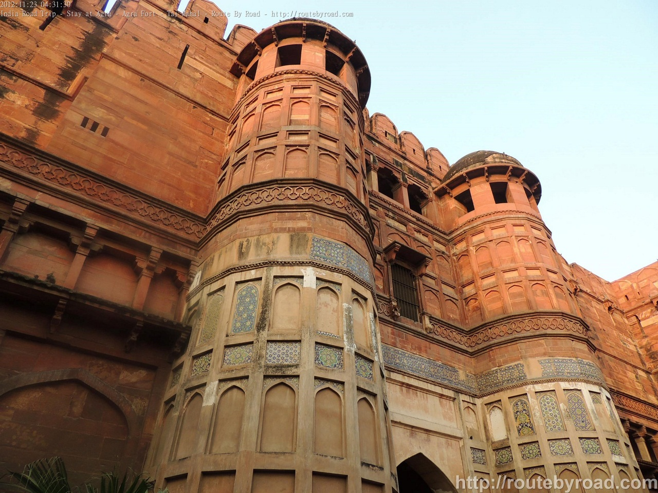 India Road Trip - Stay at Agra - Agra Fort - Taj Mahal - Route By Road - http://routebyroad.com