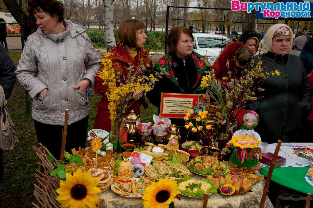 Проводы масленничной недели 17 марта 2013 года в центральном парке г.Кореновска. Фото проекта