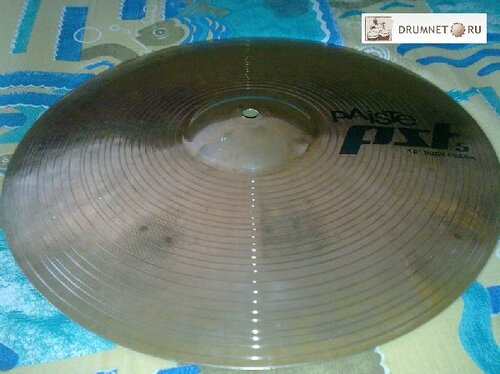 Rock crash Paiste PST 5