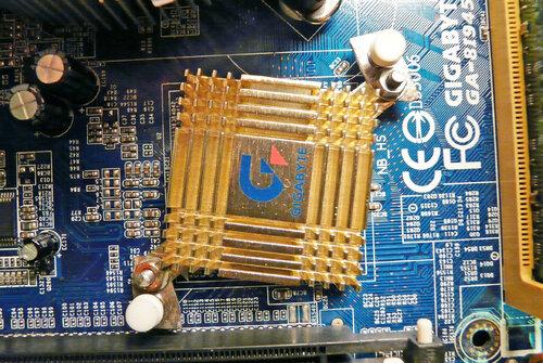 Радиатор от i845GE оседлал i945GZ