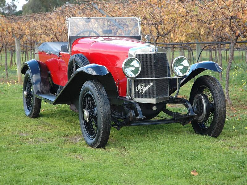 Alfa-Romeo-RL-S-Tourer-1922 - 1925