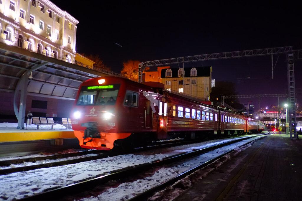 картинки вокзал владивостока ночью под