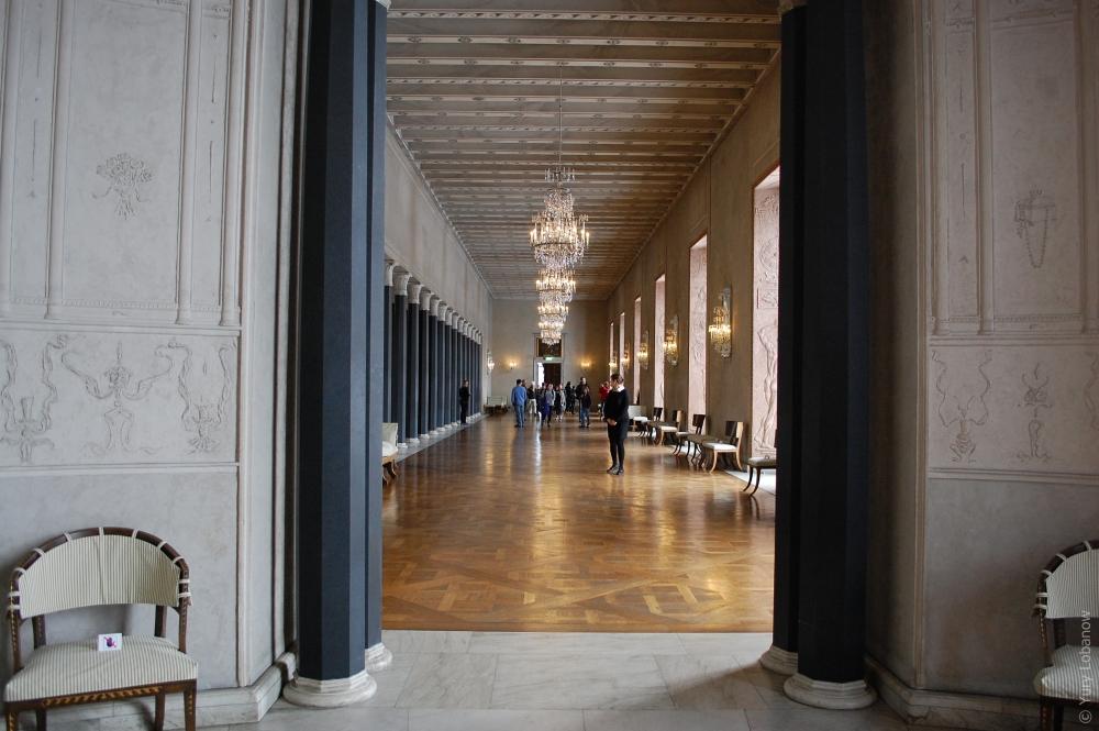Стокгольмская ратуша, Швеция, комната «Трех корон»