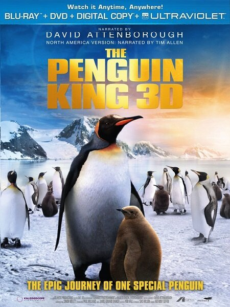 Король пингвинов / The Penguin King 3D (2012) 3D / BDRip 1080p / 720p + HDRip