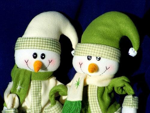 Снеговики7