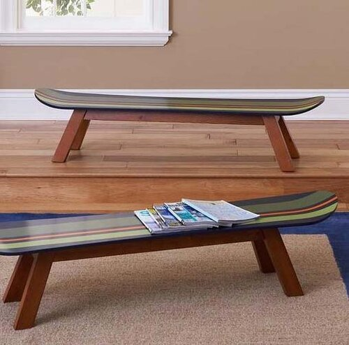 Мебель из скейтбордов5
