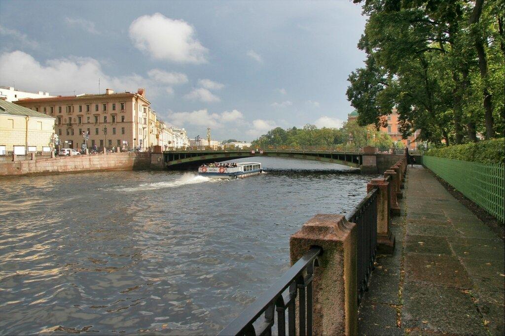 Фонтанка и Пантелеймоновский мост
