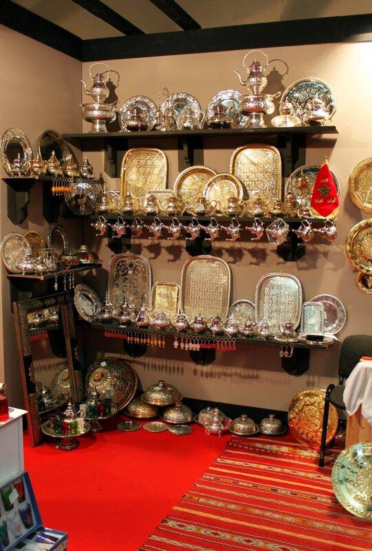 Изделия марокканских чеканщиков